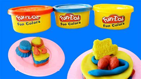 Mainan Anak Play Doh Cake mainan anak doh membuat kue ulang tahun dan mini cake