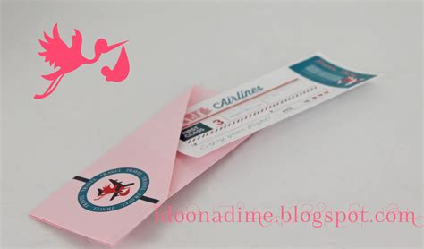 i do on a dime free baby shower passport invites