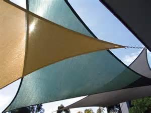 Canvas Triangle Awnings Triangle Sun Shade Sails Garden Art Pinterest