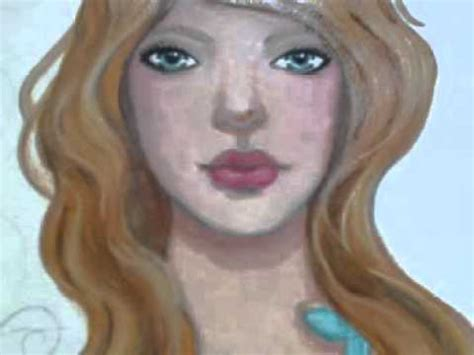 acrylic painting nose beginner s painting demo how to paint the nose and
