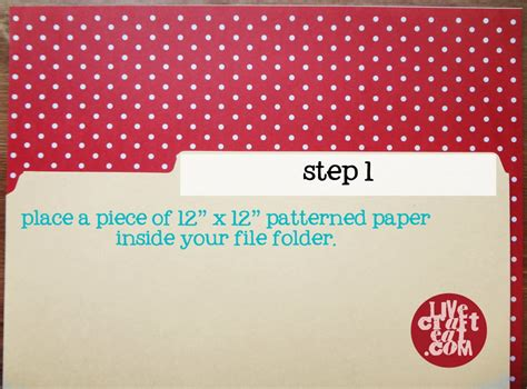 How To Make A Paper File Folder - decorative file folders how to line a file folder live