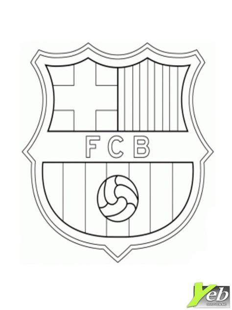 Coloriage De Foot Fcb Fc Barcelone Coloriage L