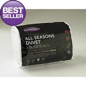 All Seasons Duvets All Seasons Slumberdown 3 Duvets In 1 4 5 10 5 Tog 15 0