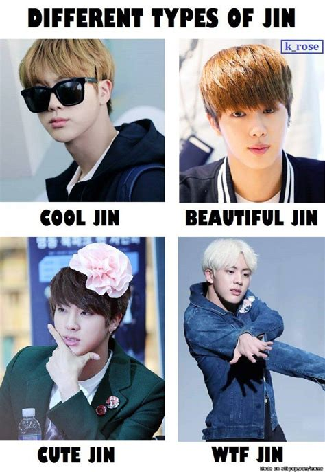 Jins Meme - bts jin everyone pink princess bts and princess
