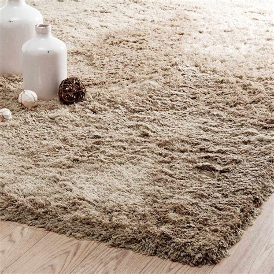 alfombra de pelo largo beis    cm inuit maisons du monde