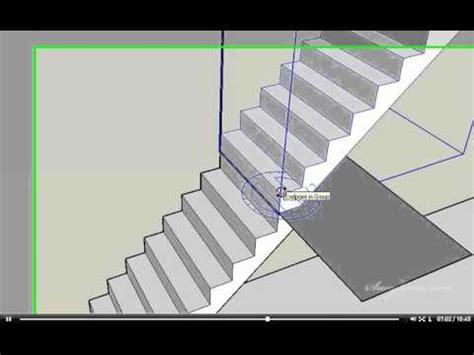tutorial sketchup animasi animasi 3d pembesian struktur beton kolom balok tangga