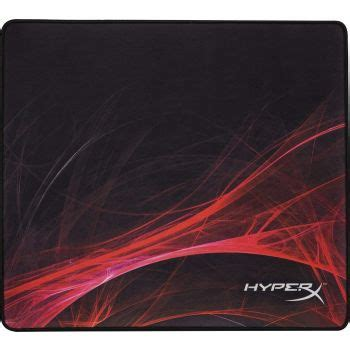 hyperx fury  speed edition pro gaming mouse pad cloth surface optimized  speed stitched