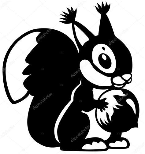 imagenes a blanco y negro de dibujos animados dibujos animados ardilla negro blanco archivo im 225 genes