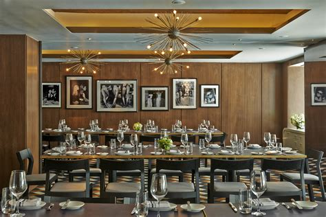 restaurants in nyc with private dining rooms seafood below central park at the wayfarer in new york