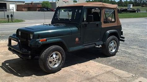 1993 Jeep Wrangler Soft Top Purchase Used 1993 Jeep Wrangler Only 44k