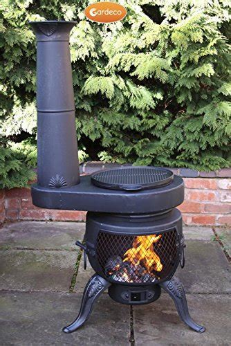 chiminea pizza oven attachment top 8 best chimineas for your garden buyers guide and