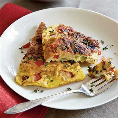Cooking Light Summer Recipes by Summer Vegetable Frittata Top Egg Recipes