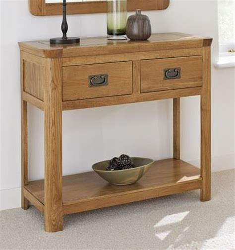 bedroom console table artisan solid oak bedroom furniture console hallway