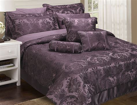 Damask Duvet Cover King Carrington Damson From Home Store Plus