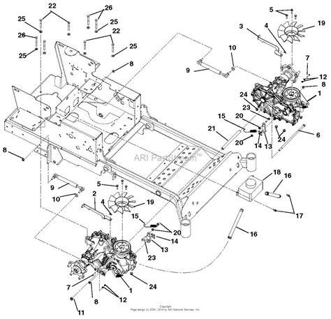 gravely mower parts diagram gravely 991041 000200 zt hd 60 parts diagram for