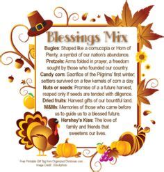The Mixed Blessing Of Donations by Thanksgiving Blessing Mix Recipe Ingredients 2 Cups