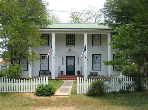 The Cottage Woodville Tx by Pineywood Historic Home 1870 Southern Colonial Woodville