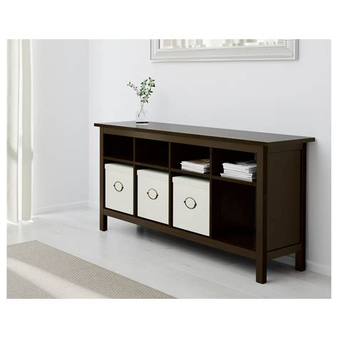 console tables ikea hemnes console table black brown 157x40 cm ikea