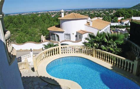 Location villa Alicante (Costa Blanca) piscine privée Pedreguer (Espagne)[ .]