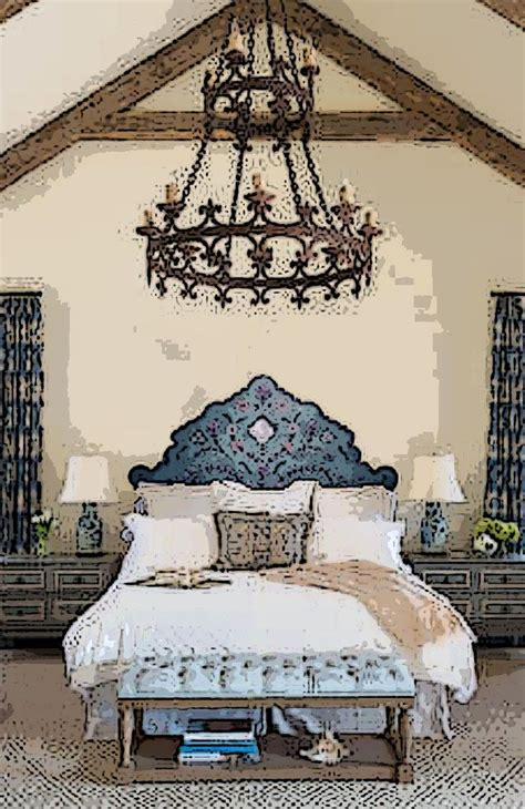 headboard in spanish spanish revival bedroom using anne winkler s headboard