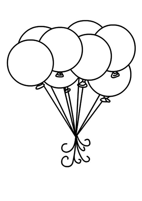 the balloons and circle for coloring book education