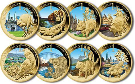 colored coins 2009 celebrate australia 1 coins coin news