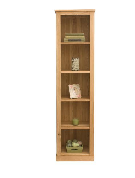 mobel oak narrow bookcase living room furniture