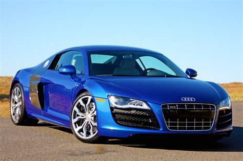 Blue Audi R8 by Audi R8 V10 Blue