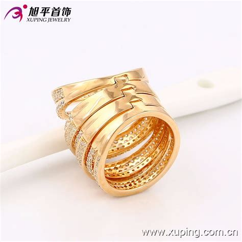 Set Xuping Gold New Juni 13748 xuping sets jewelry new 4 pcs rings for