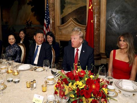 the first ladys trip to china the white house trump accepts xi s invitation to visit china this year