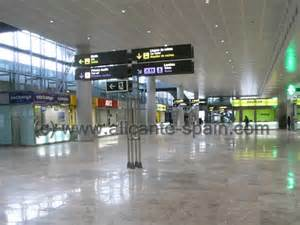 Car Hire Alicante Airport Budget Alicante Airport Service Lost And Found Pharmacy Etc