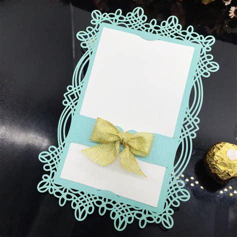 Cetakan Cupcake Kotak Cup Silikon Square Silicone Cup Wadah Lauk Bento 2015 baru biru renda potong laser wedding undangan kartu
