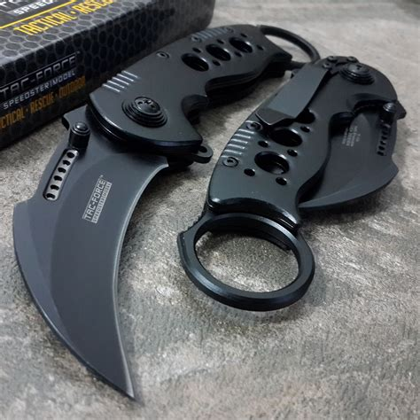 best open assist pocket knives tac assisted pocket knives karambit claw