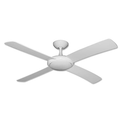 white ceiling fan no light gulf coast fan 52 quot modern outdoor ceiling fan