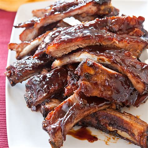 recipe for country style spare ribs style barbecued spareribs recipe cook s country