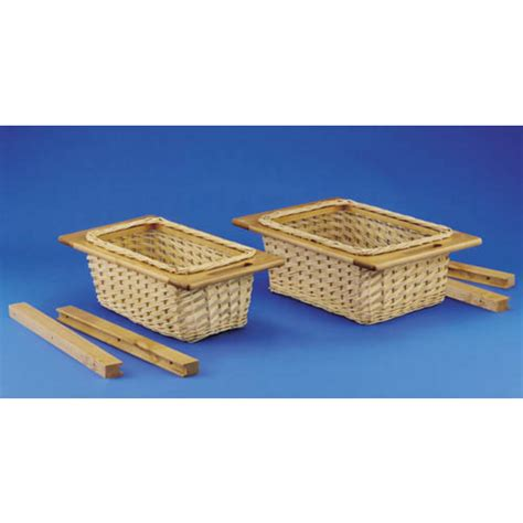 rev a shelf 4wb 18i 14 1 4 quot 362mm wide rattan basket cabinet organizers kitchen cabinet organizers by hafele