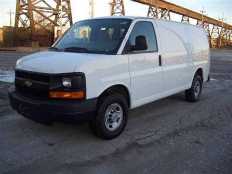 how make cars 2008 chevrolet express 2500 transmission control buy used 2008 chevy express 2500 cargo van v8 automatic trans one owner fleet maintained in