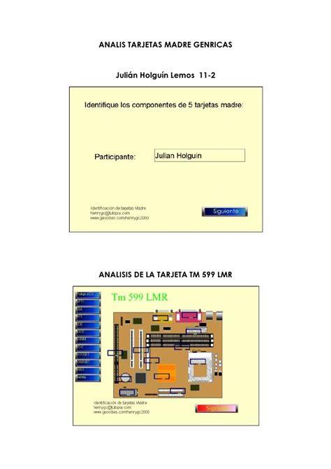 Lu Belajar Success evaluacion motherboard julian holguin 11 2