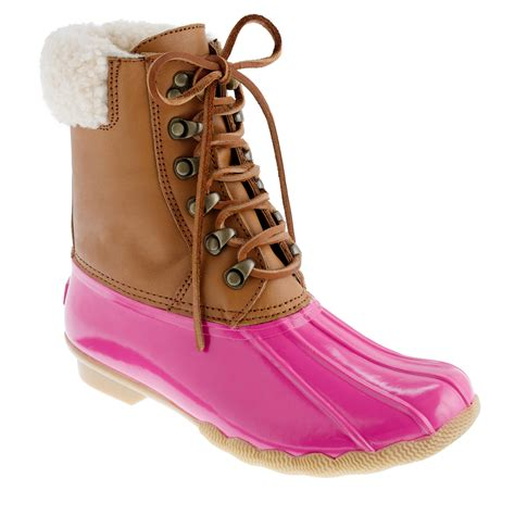 jcrew duck boots sperry top sider 174 for j crew shearwater boots j crew