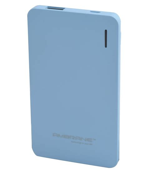 Powerbank Wellcomm Lithium Polymer 4000 Mah Atcpb400ajw ambrane pp 40 4000 mah li polymer power bank power banks at low prices snapdeal india