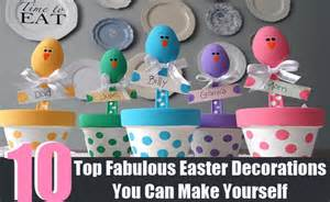 10 top fabulous easter decorations you can make yourself