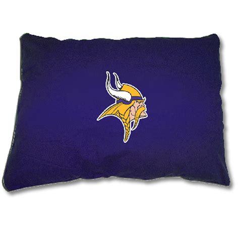 Nfl Pillows by Nfl Team Pet Pillows Vikings L Enrych Quality Pet