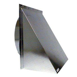 10 Wall Cap by Wall Cap 10 Inch Galvanized Metal Erv Direct