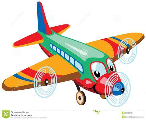 desenho cartoon airplane royalty free stock images image 38756149