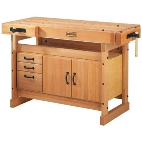 work bench kit sjobergs scandi plus 4 ft x 9 in workbench with sm03