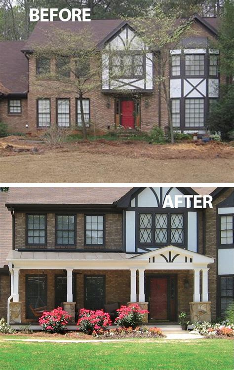 tudor home with a modern twist on lake washington 17 best images about curb appeal before after on