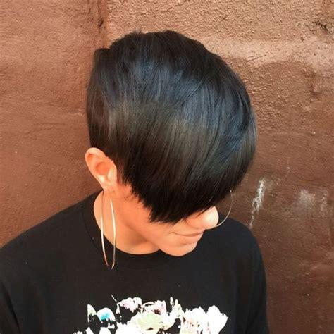pixie cut on average person 25 best ideas about black pixie haircut on pinterest