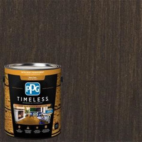 ppg timeless  gal tsn  oxford brown satin semi