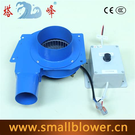 chlorine gas exhaust fans stepless regulating 80w small high pressure dc 12v steel