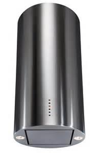 Free Standing Island Kitchen Units Cda Evck4 Cylinder Island Cooker Hood In Black Or
